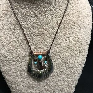 Jewelry - Buckle Necklace silver